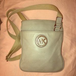 Micheal Kors leather crossbody bag